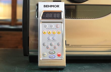 Installing a Behmor 1600 Plus Control Panel