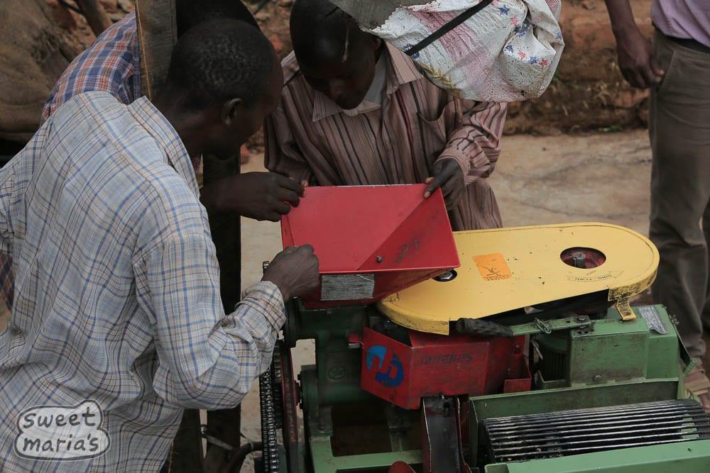 Repairing the Penagos pulper
