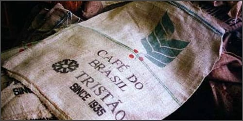 Jute coffee bags for coffee 150 pounds decoration