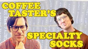 "Tom and Dan in ""Specialty Coffee Socks"" Season 1 : Episode 1"