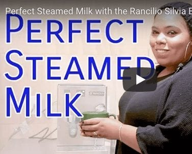 Perfect Steamed Milk for Espresso Drinks at home with the Rancilio Silvia
