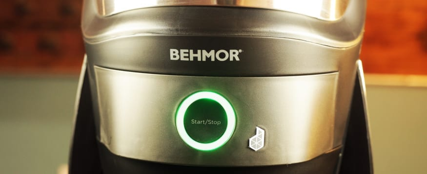 Behmor Connected  Coffee Brewer Buttons