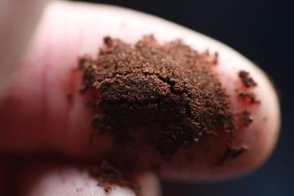 Espresso grind pinch test - good results