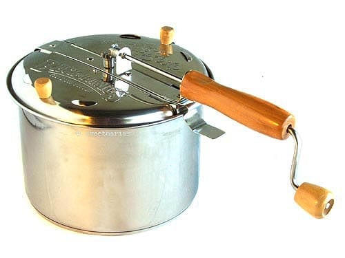 whirley pop stovetop popper