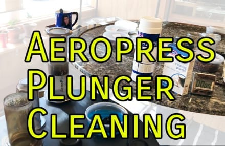 Aeropress Plunger Cleaning