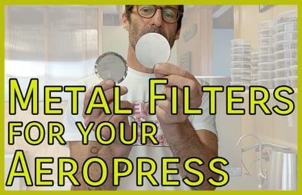 Video: Metal Aeropress Filters