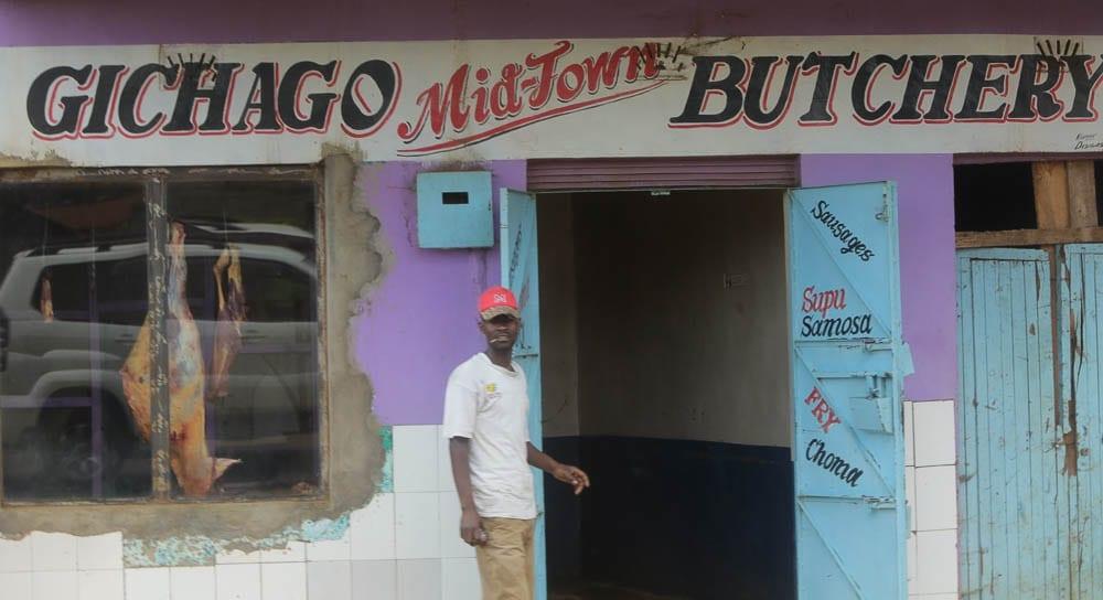 Gichago Butchery, Kenya