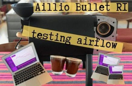 Aillio Bullet R1 Roaster: Testing Airflow with Rwanda Kageyo