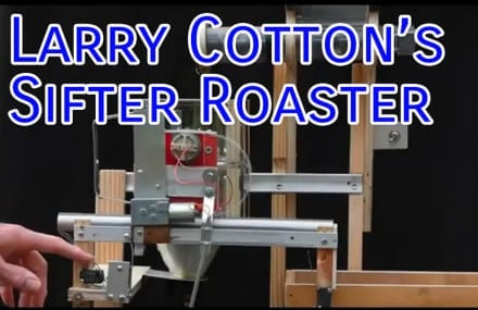 Video: Larry Cotton's Sifter Coffee Roaster