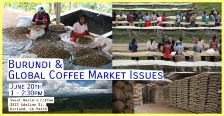 Discussion: Burundi & Global Coffee Market Issues
