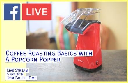 Live Stream: Intro to Home Roasting