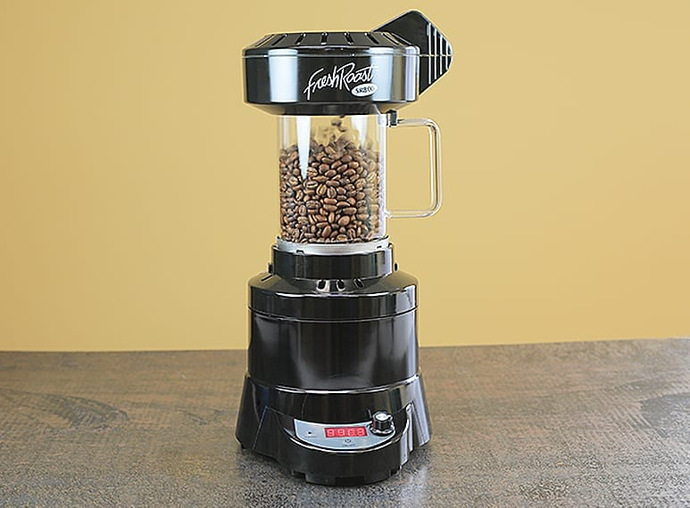 Fresh Roast SR800 Home Coffee Roaster, Air roast type