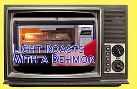 Video: Behmor 1600 Light Roasts