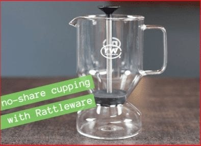 Cupping Safety: No-Share with Rattleware Cupping Brewer