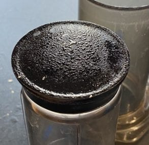 What is the Sticky Stuff on my Aeropress Coffee Maker?