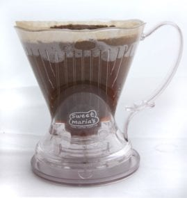 Clever Brewer with coffee