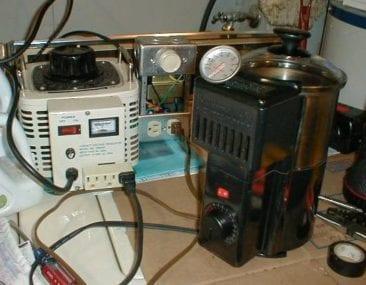Homemade home coffee roaster