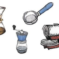 Sweet Maria's Product Drawings by Thompson