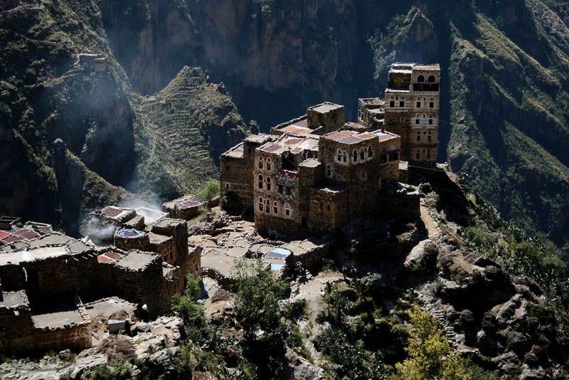 Yemen coffee Gart town, photo by Thompson Owen