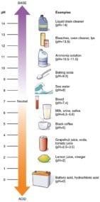 acidity scale