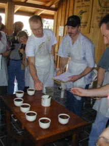 Back to the Cupping Competition