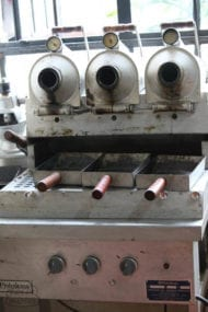 a sample coffee roaster froaster from pinhalense