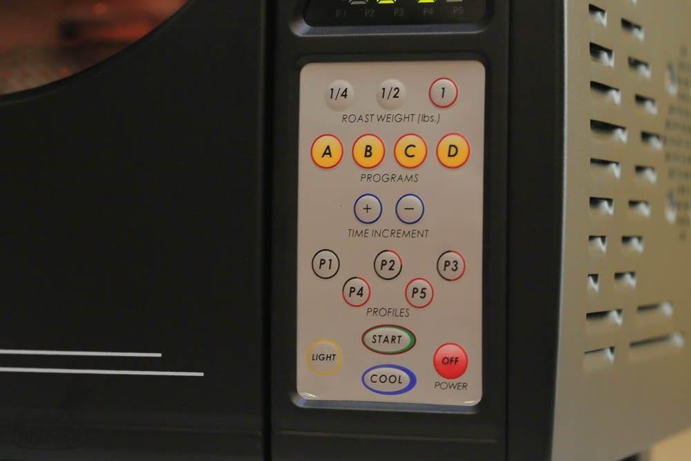 Behmor 2000AB Plus Controls -Sweet-Maria's