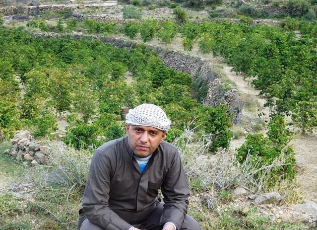 Yemen coffee farmer Yemen coffee - photo from Pearl of Tehama