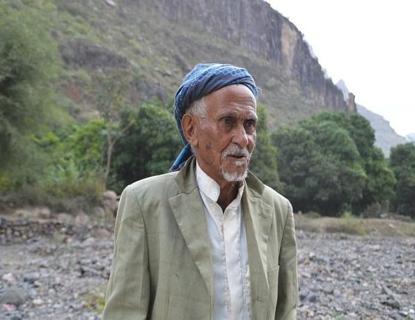 Yemeni coffee farmer