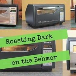 Roasting Dark in the Behmor Coffee Roaster