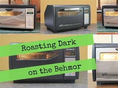 roasting dark on the behmor coffee roaster