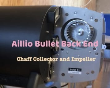 Behind the Aillio Bullet Roaster-Chaff Collection and Impeller Fan