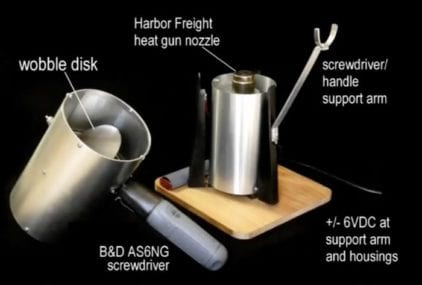 DIY Coffee Roaster by Larry Cotton, Wobble Disk v 2.0