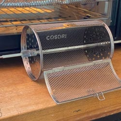 Roasting Coffee in a Rotisserie Drum in a Toaster Oven Air Fryer