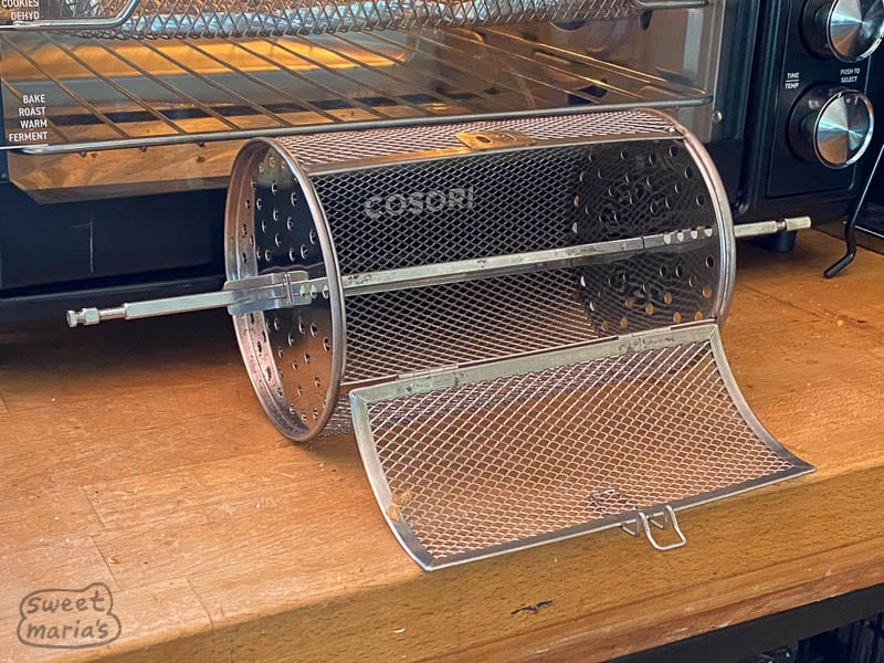 Air Fryer Rotisserie Drum for coffee roasting
