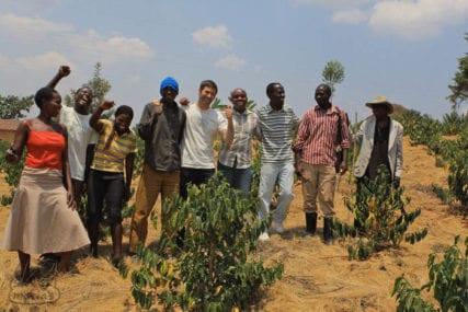 Rwanda coffee washing station rwandan green coffee beans