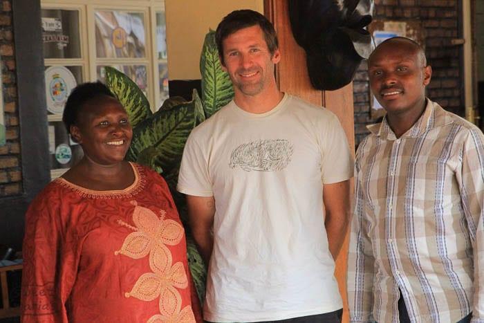 Thompson Owen in Rwanda