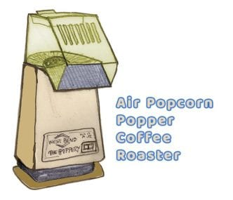 west bend poppery air popper coffee roaster