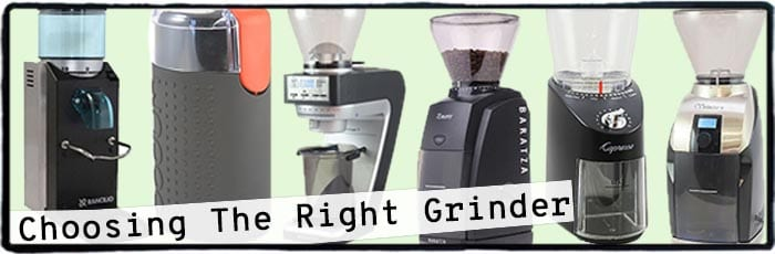 Choosing the right grinder