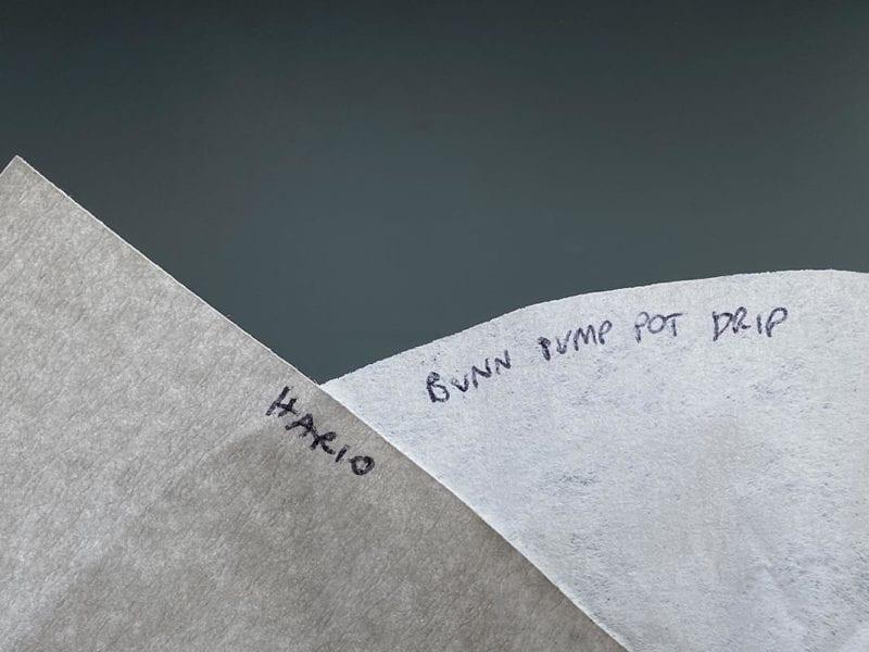 Hario versus Bunn surface texture.