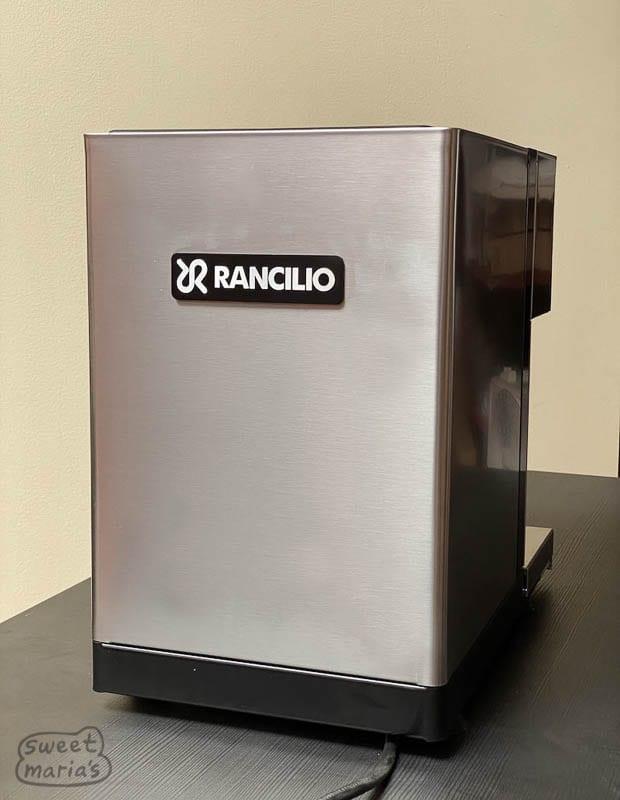 Rancilio Silvia Pro reverse side of the machine?