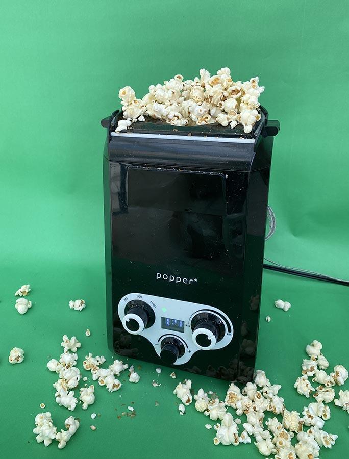 Popper can pop popcorn