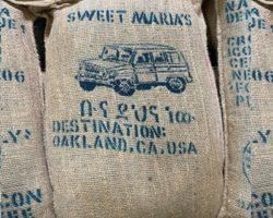 ethiopian green coffee bags for dry process buno dambi uddo