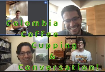 colombia coffee conversation video